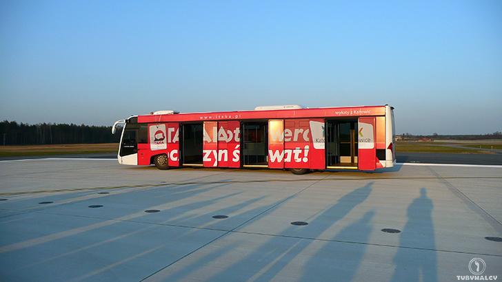 Katowickie lotnisko bus