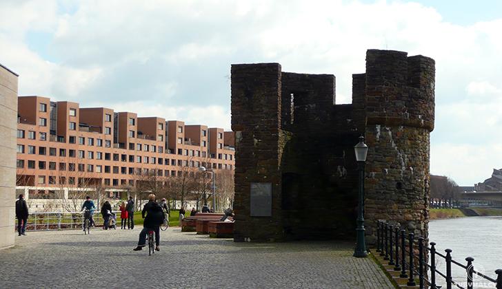 Maastricht mury miejskie