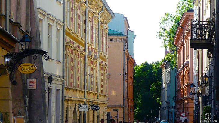 Kraków golebia