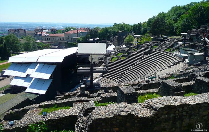 Lyon amfiteatr rzymski