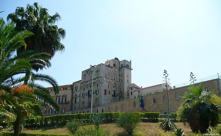 Palermo Pałac Królewski