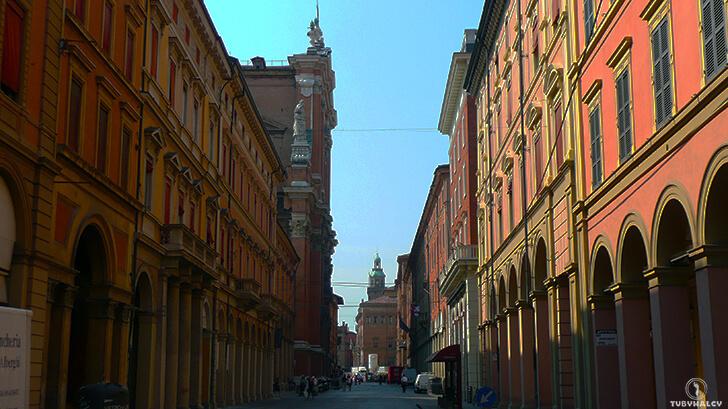 Bolonia główna ulica