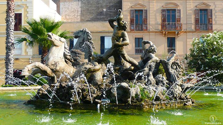 Trapani Fontana di Tritone
