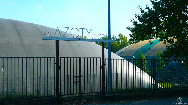 Chorzów ulica Harcerska Azoty Chorzów