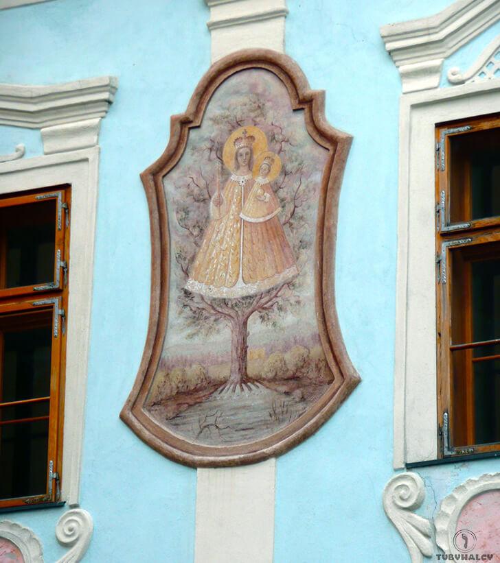 czeski krumlov kamienica