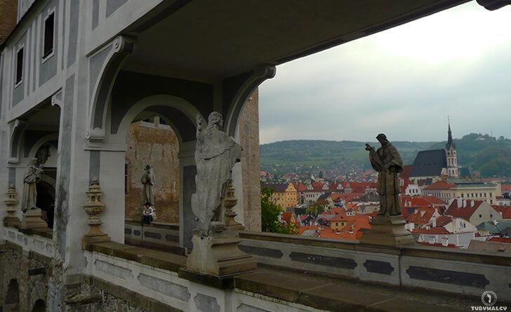 czeski krumlov most płaszczowy nazamku