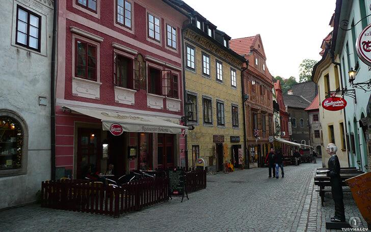 Czeski krumlov ulica