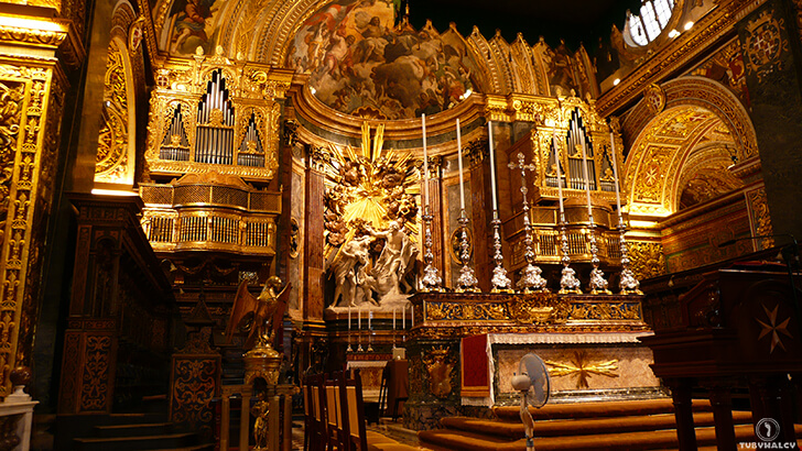 malta La Valletta - Katedra św.Jana