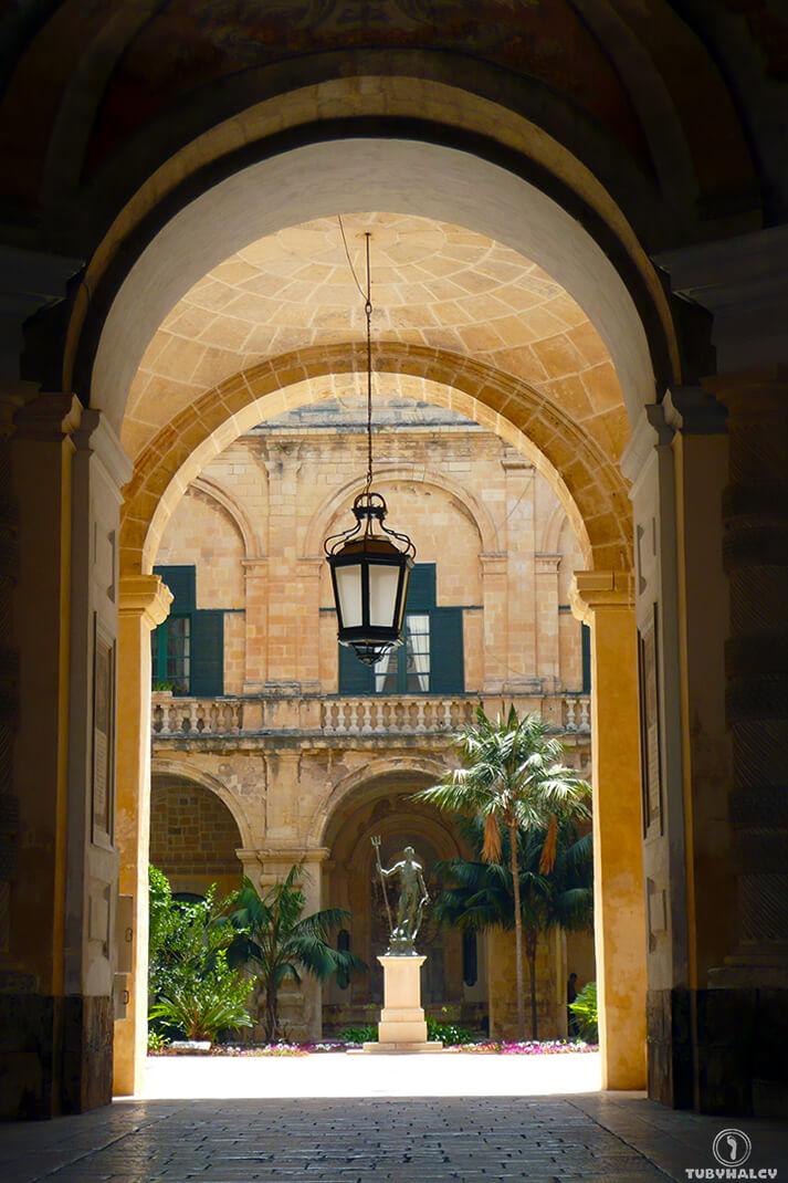 valletta malta nazdjęciach pałac