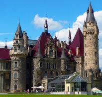 Zamek w Mosznej czyli polski Hogwart opolskie