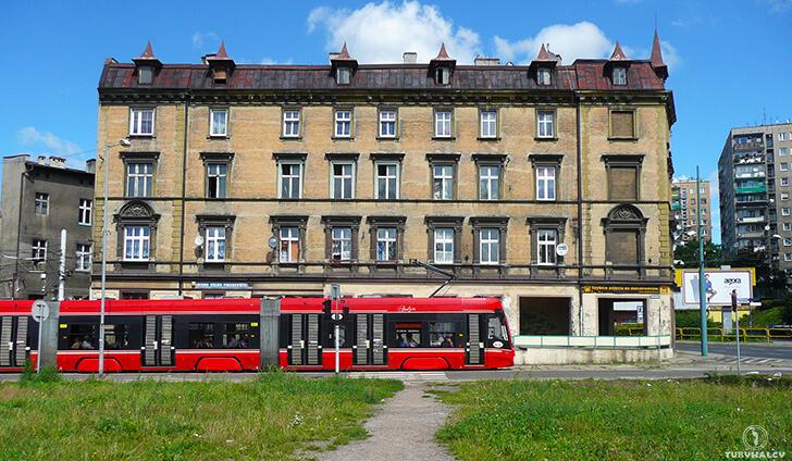 bytom śladami karin stanek ulica katowicka tramwaj