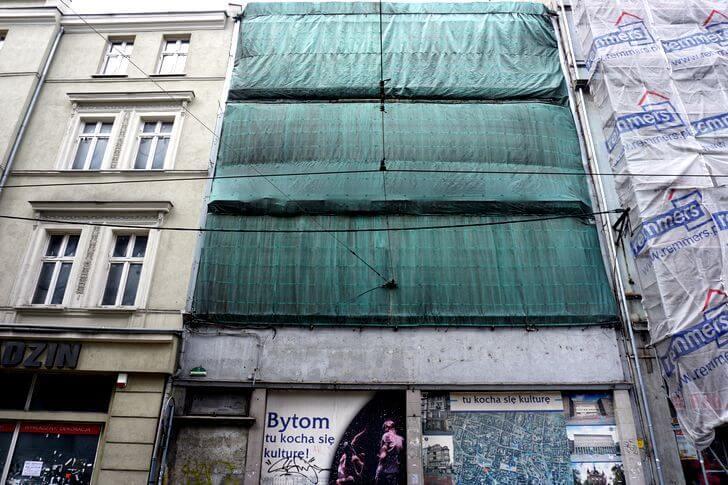 Mojszaracja Bytom zbrzydkiej strony - ul.Katowicka 2