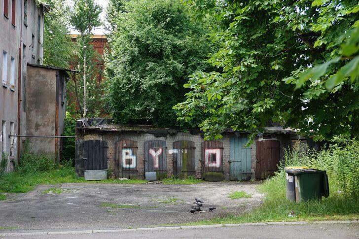 Mojszaracja Bytom zbrzydkiej strony - ul.Kruszcowa