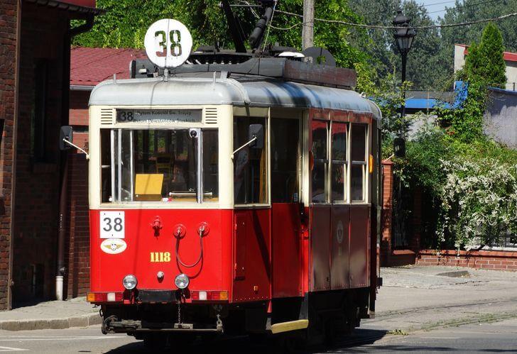 tramwaj-38 Bytom zładnej strony