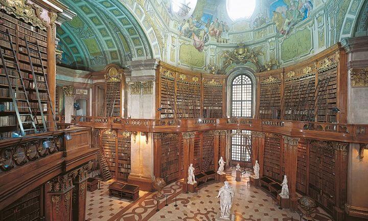 napiękniejsze biblioteki biblioteka narodowa austrii