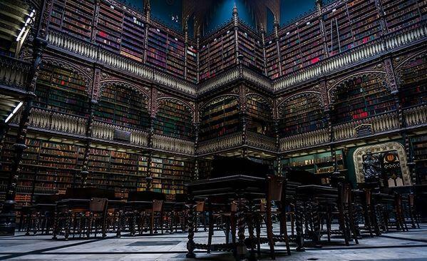najpiękniejsze biblioteki brazylia rio de janeiro