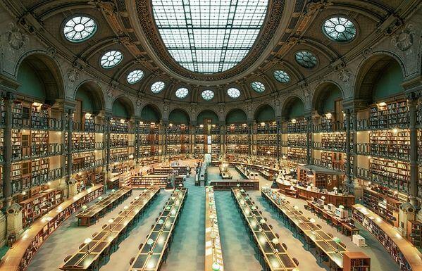 najpiękniejsze biblioteki francja biblioteka narodowa wparyżu