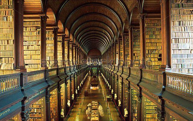 najpiękniejsze biblioteki trinity college
