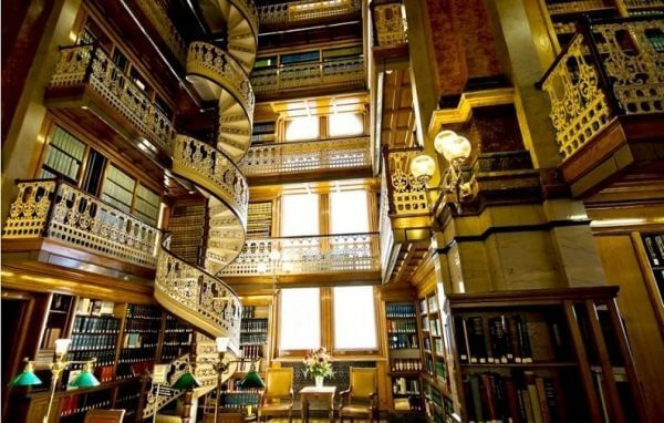 najpiękniejsze biblioteki usa iowa biblioteka stanowa