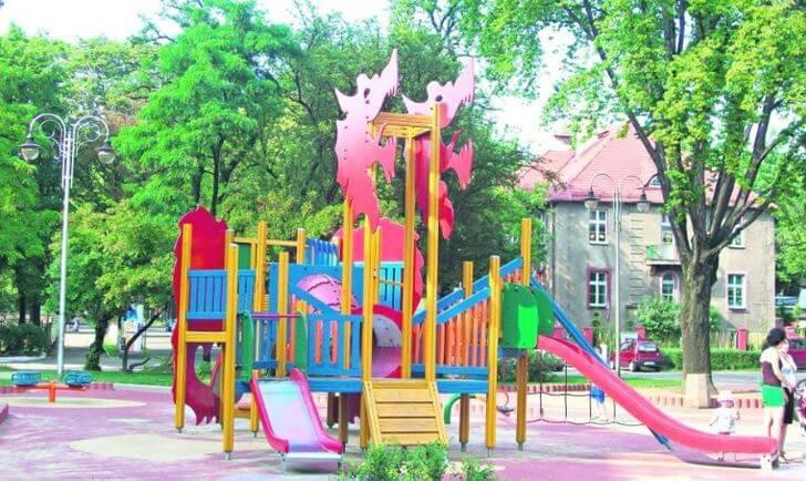 plac zabaw plac słowiański bytom