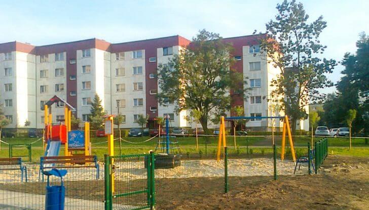 plac zabaw felińskiego Miechowice