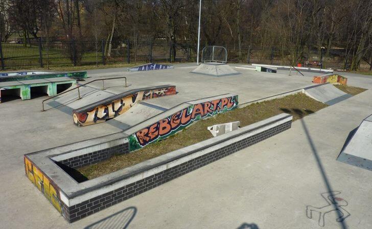 bytom atrakcje skatepark
