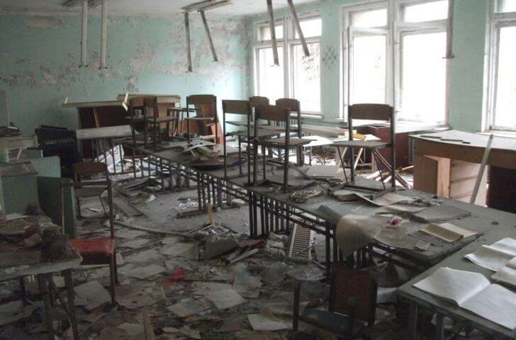 wycieczka doCzarnobyla - szkoła