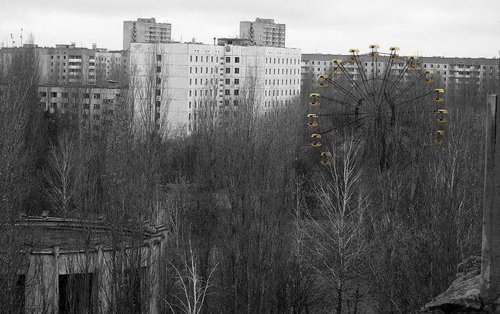 wycieczka doczarnobyla - wesołe miasteczko