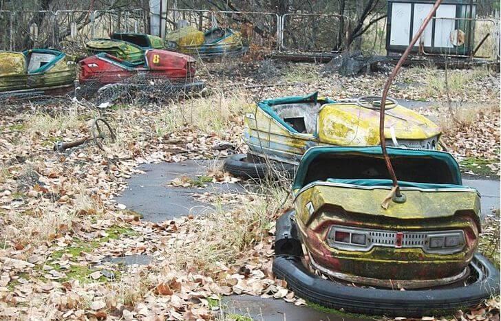 wycieczka doczarnobyla - karuzela