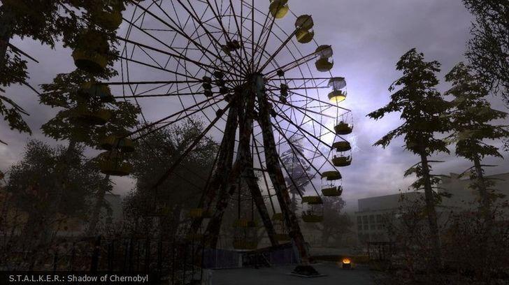 wycieczka doczarnobyla - gra stalker