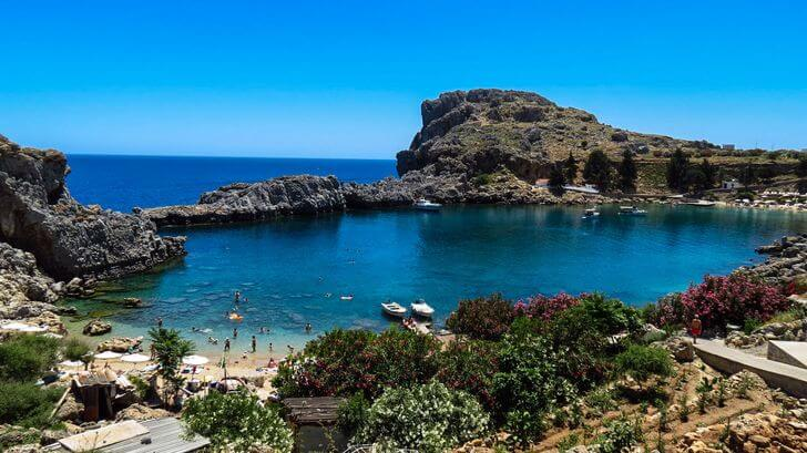 agios pavlos najpiękniejsze plaże weuropie zestawienie