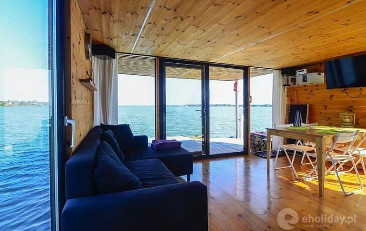 HT Houseboats - ciekawe noclegi wPolsce