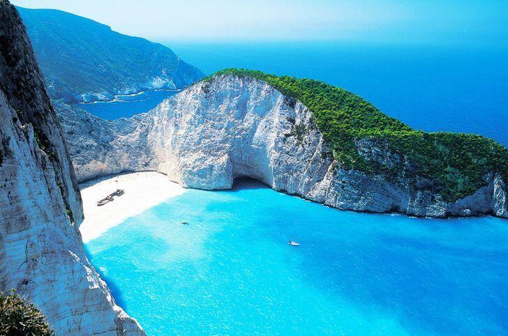 navagio - najpiękniejsze plaże weuropie zestawienie