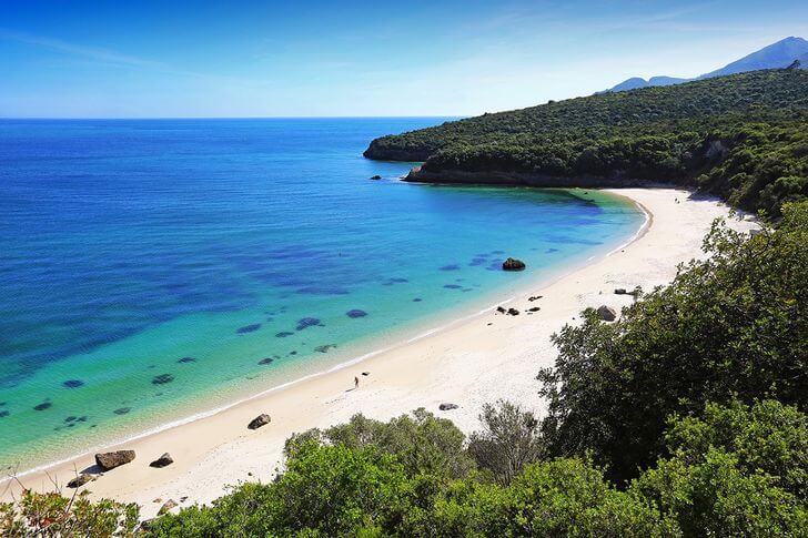 praia de galapinhos najpiękniejsze plaże weuropie zestawienie