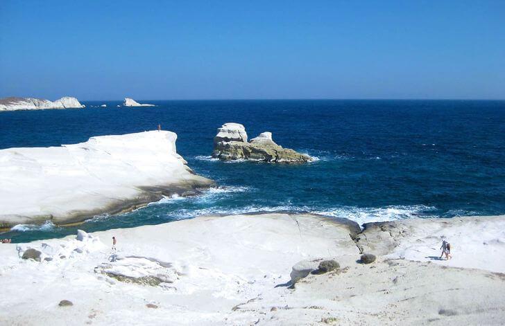 sarakiniko najpiękniejsze plaże weuropie zestawienie