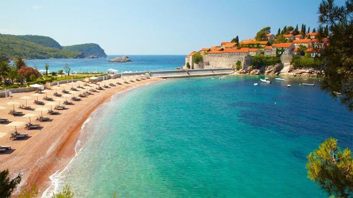 svetni stefan najpiękniejsze plaże weuropie zestawienie