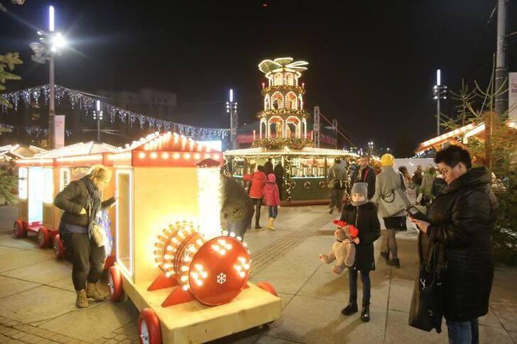 Katowice jarmark bożonarodzeniowy