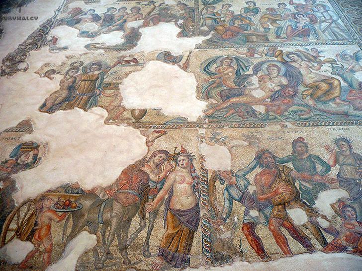 Paphos mozaiki
