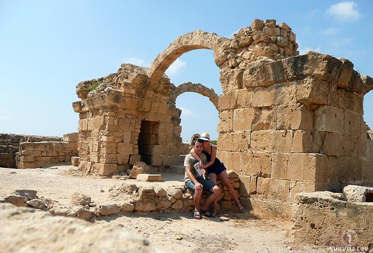 Paphos zamek